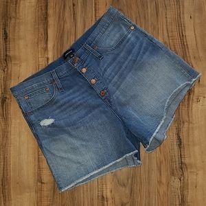 J CREW  High Rise shorts,